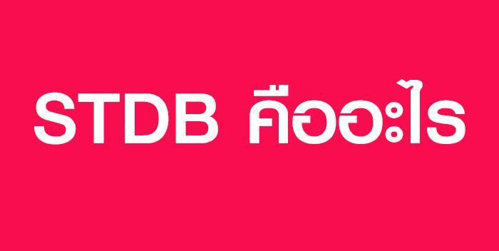 STDB คืออะไร