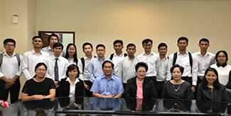 Follow-up Meeting with Cambodian Students