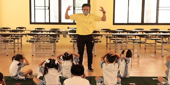 Booth Up Energy with PE Learningเพิ่มพลังเรียนรู้กับพละศึกษา